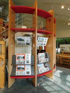 柳屋建設ショールームおうち図書館