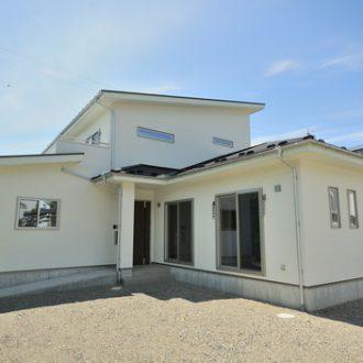 二世帯住宅完成