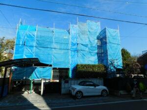 上田市中央外壁塗装