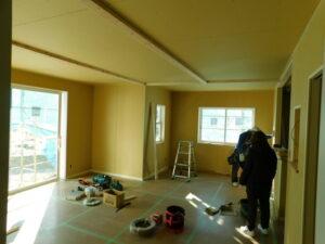 住宅内装作業