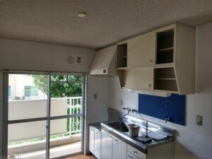 台所の塗装完了